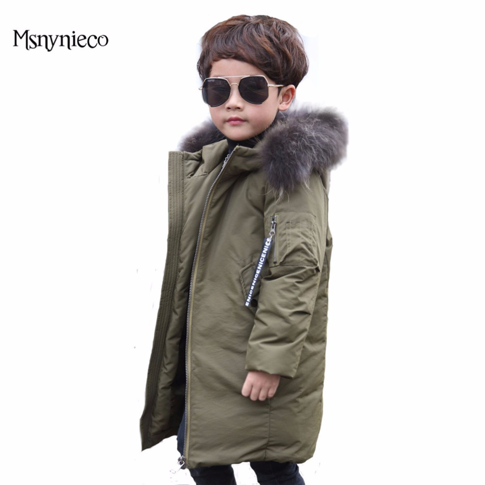 Winter Down Jacket for Boys Casual Thicken Warm Coats 2017 Fashion Hooded Children Outerwear Kids Overcoats Children Clothing fashion girl thicken snowsuit winter jackets for girls children down coats outerwear warm hooded clothes big kids clothing gh236