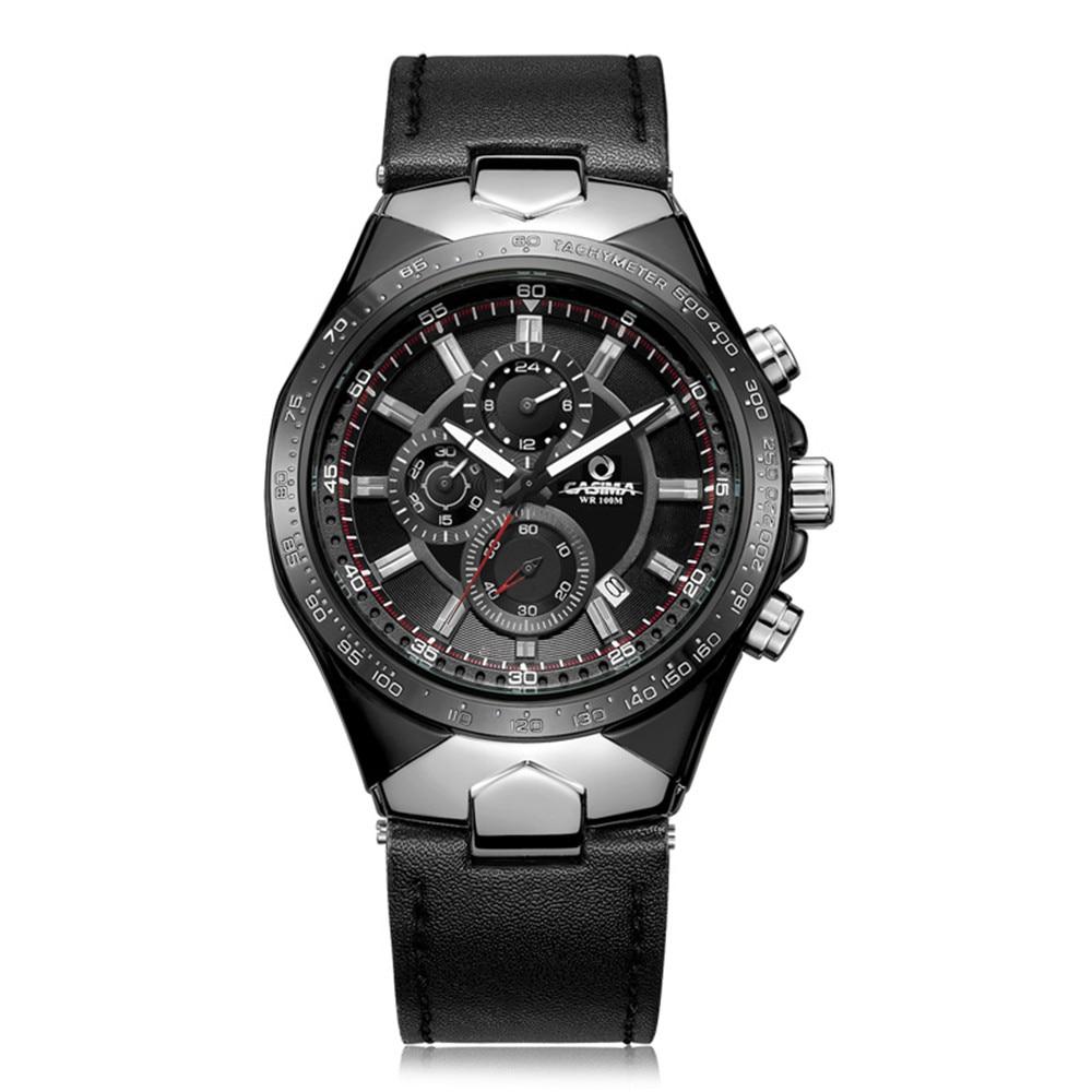 CASIMA Fashion Luxury brand watches men sports table luminous multifunction racing mens quartz wrist watch waterproof 100m 8880 цена и фото