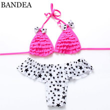 2016 new Sexy Womens Bikini Swimwear Brazilian Bandage Bikini Swimsuit stars Bathing suits Biquini