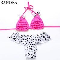 2016 New Sexy Womens Bikini Swimwear Brazilian Bandage Bikini Swimsuit Stars Bathing Suits Biquini