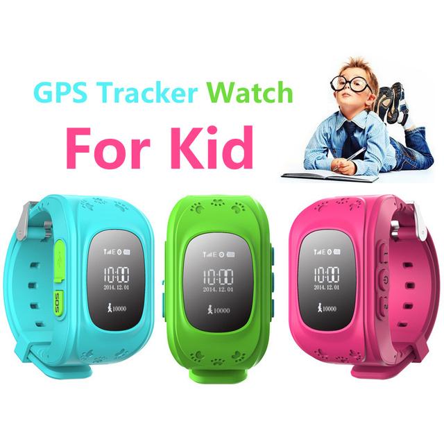 2016 Kid Safe GPS Relógio Inteligente relógio de Pulso Chamada SOS Localização Rastreador Criança Guarda de alarme Anti-Perdida Smartwatch para Android iOS