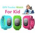 2016 Smart Kid Safe GPS Reloj Reloj SOS Seguimiento de Localización de Llamadas Guardia Niño Anti-perdida Smartwatch para Android iOS
