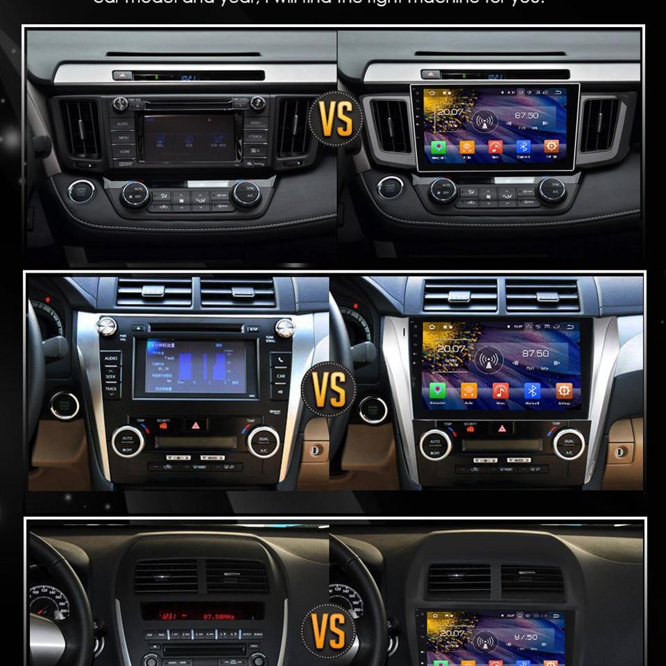 "Cheap 7"" Octa Core 4G WIFI Android 8.1 4GB RAM 64GB ROM RDS Car DVD Multimedia Player Stereo Radio For BMW E90 E91 E92 E93 2005-2012 7"