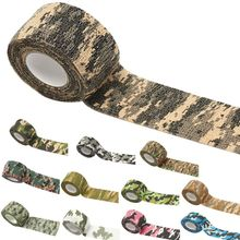 4.5m Self-Adhesive Camouflage Stretch Medical Bandage Non-Woven Protective Tape Tatto Accessories цена