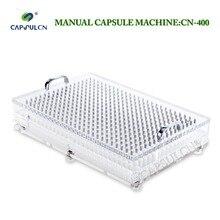 (400 отверстия) CN-400 размер 0 руководство заполнитель капсулы/капсула розлива с самым лучшим качеством, подходит для разделенных капсулы