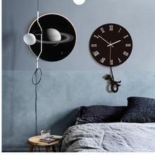 28cm quartz watch wall clock acrylic mirror reloj pared horloge needle diy clocks living room modern watches 3d stickers