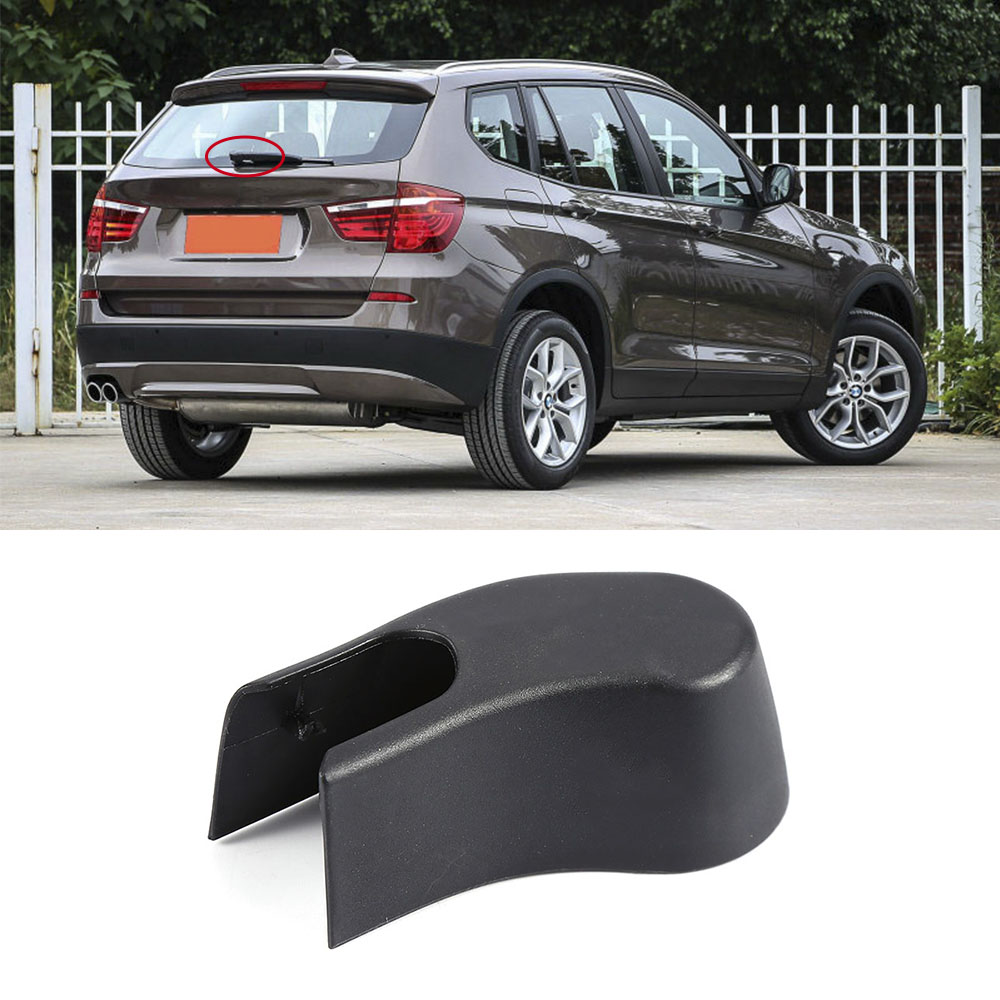 Car Auto Styling Accessories Repair Part For BMW X3 F25 2011-2015 Rear Windshield Wiper Arm Nut Cover Cap Plastic