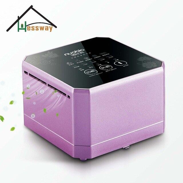 Desktop Mini Office Air Purifier 110v 240v Active Carbon Cleaner For Formaldehyde Removing