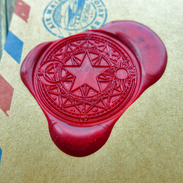 Star Moon Sun Cardcaptor Sakura Power Wax Seal Stamp/ with handle free shipping ws126 moon flac jeans