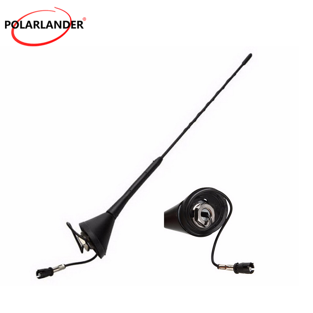 For M/azda FOR B/MW FOR V/W FOR G/olf FOR P/olo Auto Replacement Parts AM/FM Aerial 16 Roof Mast Radio Whip Aerial Antenna Base