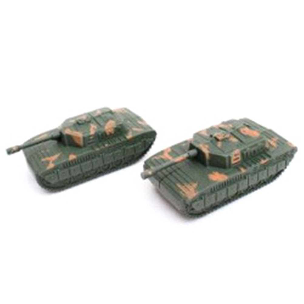 EHBqna Fashion 2PC Mini Tiger Tank Model Imitate Scale Radio Controlled Children Kids Vehicle Toy Christmas Gift Cool Party Game