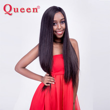Malaysian Straight Hair Weave Bundles Queen Hair Products 1 Bundle Natural Color 100% Remy Human Hair Weaving Can be dye bleach