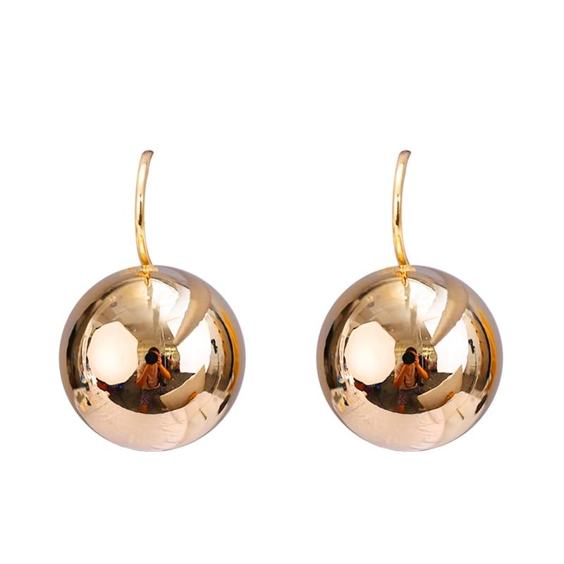2017 Fashion Jewelry Gold-color Luxury Earrings Shining Ball Shape - Fashion Jewelry - Photo 3