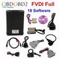 Последним FVDI Полная Версия (В Том Числе 18 Программное Обеспечение) FVDI ABRITES FVDI ABRITES Командующий Без Ограничен Диагностический Сканер DHL Бесплатно