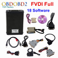 Newest FVDI Full Version (Including 18 Software) FVDI ABRITES ABRITES Commander Without Limited FVDI Diagnostic Scanner DHL Free