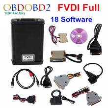 Newest FVDI Full Version (Including 18 Software) FVDI ABRITES ABRITES Commander Without Limited FVDI V2014 / V2015 DHL Free