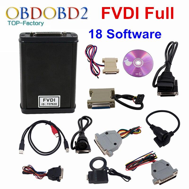 Più nuovo FVDI Versione Completa (di cui 18 Software) FVDI ABRITES FVDI ABRITES Commander Senza Limitata V2014/V2015 DHL LIBERA