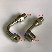 Нефтяная труба конверсионного соединения common rail Инжектор подключения соединения к common rail трубке, изогнутая масляная труба трубы