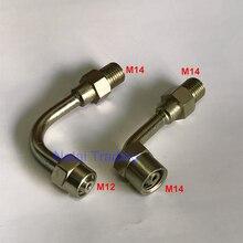 น้ำมันหลอดชุดแปลง Common Rail Injector เชื่อมต่อ Joint TO Common Rail หลอด Bent ท่อน้ำมันท่อ