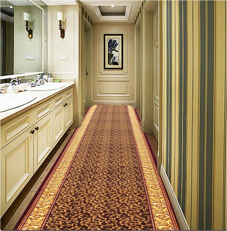 customize size red carpet joyous golden skidproof carpet for parlor hallway stairs hotel decoration water absorption ground mat in carpet from home