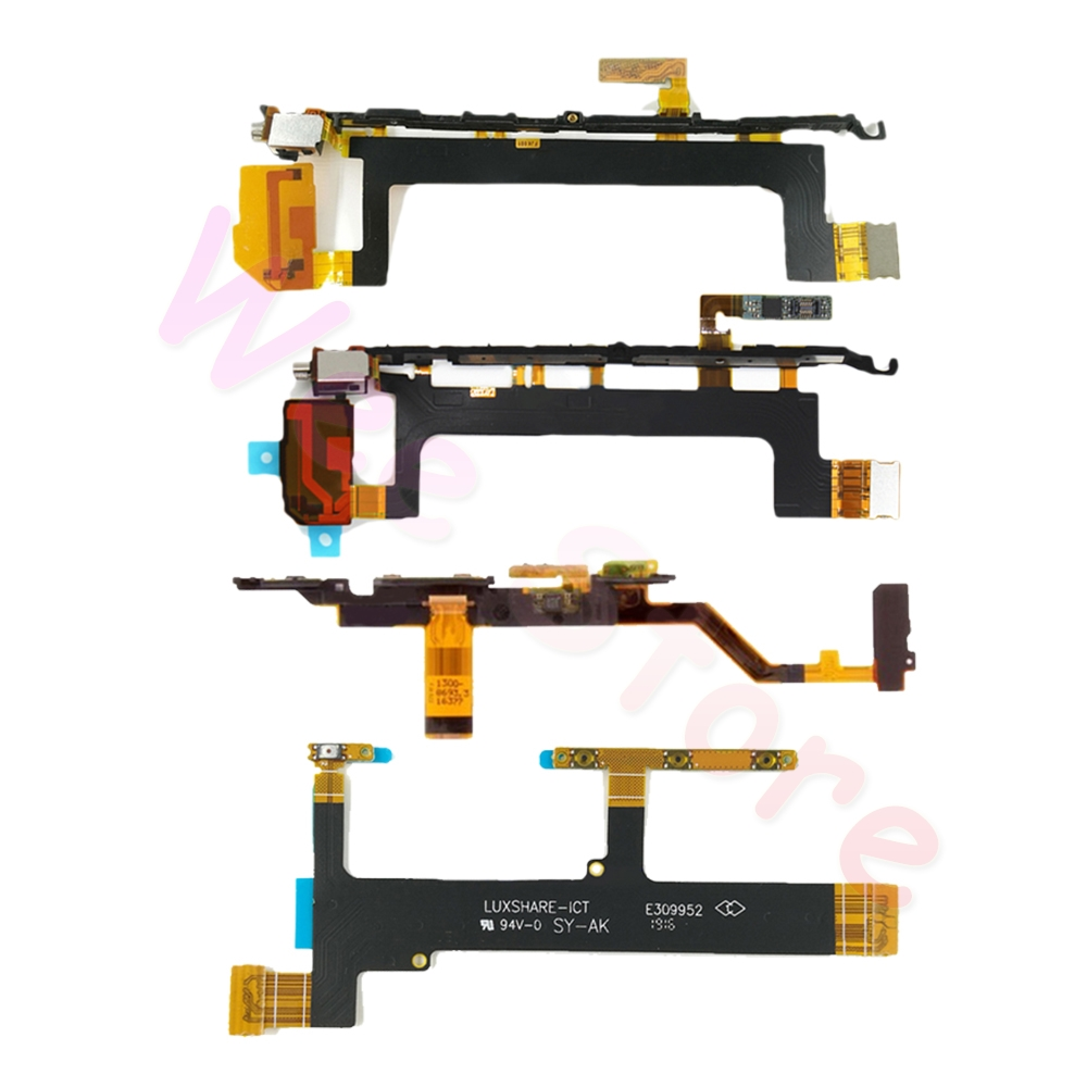 For Sony Xperia X XA XA1 XA2 XA3 1 2 3 Plus Ultra Compact Premium Power/Volume Buttons Side Key Power Flex Cable