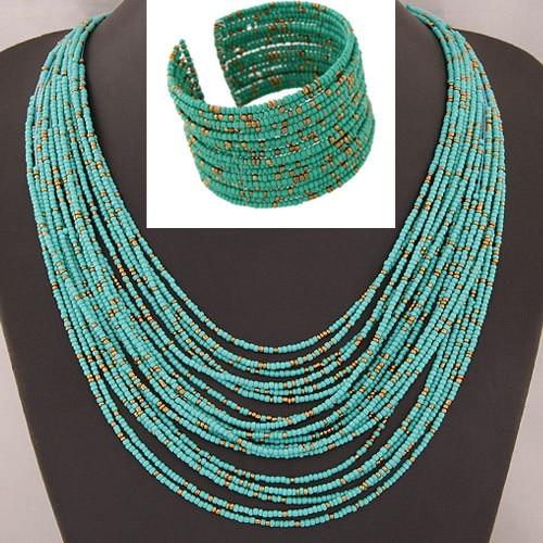 DIEZI African Acrylic Beads...