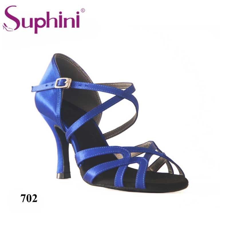 Livraison gratuite Suphini modèle classique Design chaussures de danse latine femme zapatos salsa mujer