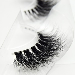 Image 4 - Visofree Mink Lashes 3D Mink Eyelashes Invisible Band Natural Black Mink False Eyelash Full Strip cilios posticos Reusable F2