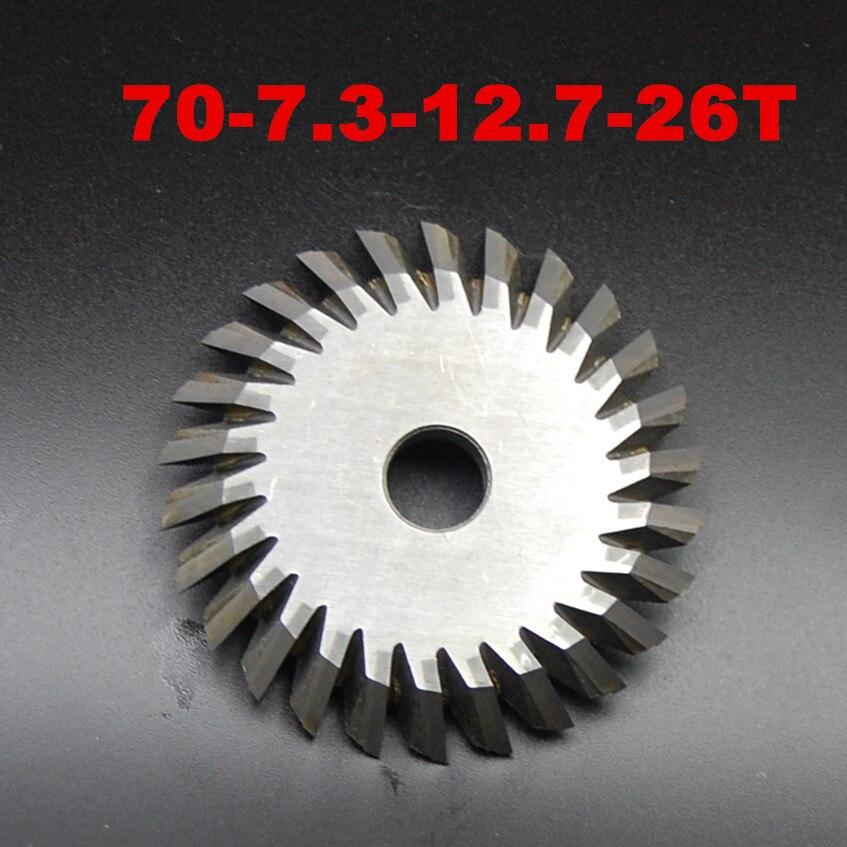 26teeth Milling cutter 0011C I C C 70X7 3X12 7 for Wenxing Key Cutting Machine100D 100E