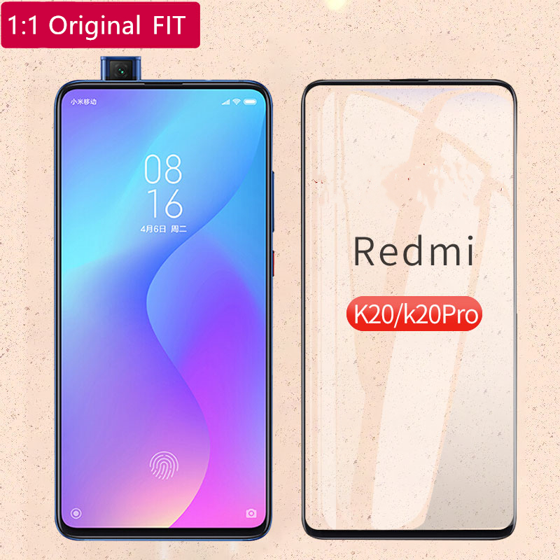 Full Cover Tempered Glass Xiaomi Mi 9T Screen Protector For Ultra Thin Glue