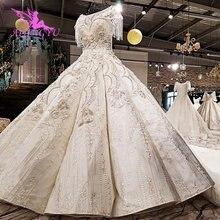 Aijingyu suprimentos casamento casamento simples moderno noivado victorian vender vestido de manga longa rendas vestido de noiva lojas
