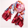 v-type high-end big Shunya Ms. summer season ink painting style long scarf scarves wholesale air conditioning