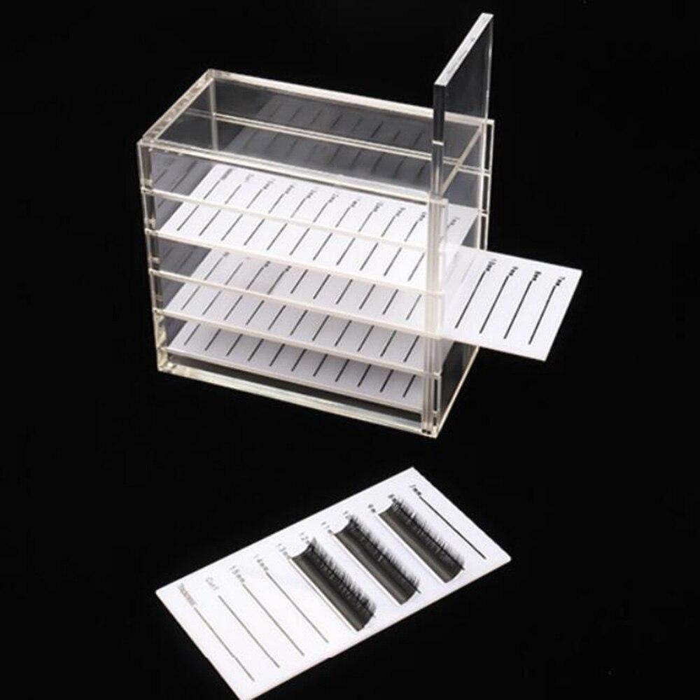 5 camadas recipiente de exibicao caixa de 04