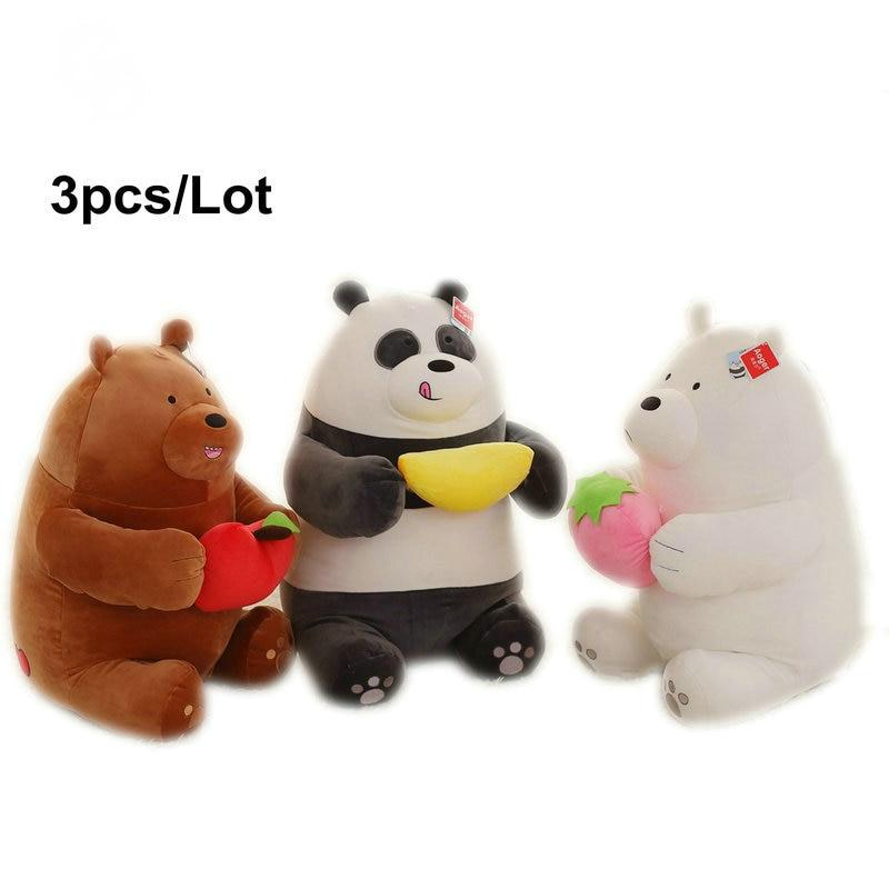 Aliexpress.com : Buy 3pcs/lot Kawaii Naked Bears Plush Toy