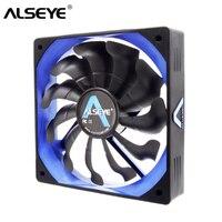 ALSEYE Computer-Fan Kühler PWM 4pin 120mm PC Fan für CPU Kühler/Kühler/PC Fall, 12V 500-2000RPM Stille Kühlung Fans