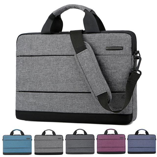 huge discount a3274 6abc7 US $19.5 35% OFF|2019 New Portable Light Laptop Messenger Bag Crossbody  Shoulder Bag Carrying Case for Macbook Pro 13 15 Dell ASUS 14