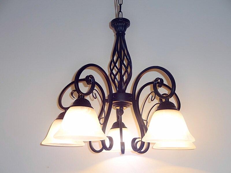 Hanglamp Meerdere Lampen : Meerdere hanglamp mode verlichting rustieke slaapkamer lampen