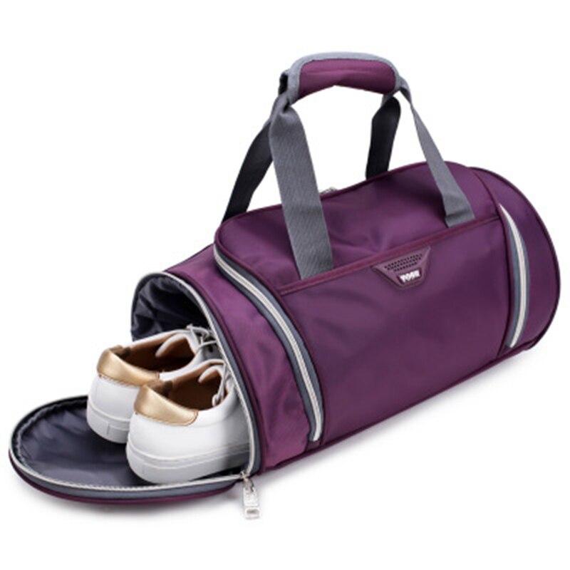 2019Waterproof Women Sport Bag Men Gym Bag Backpack Fitness Travel Handbag Outdoor Separate Space For Shoes Sac Sports Bag Male