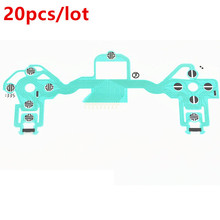 20pcs/lot Conductive Film Keypad Flex Button flat Cable Replacement for PS4 Playstation 4 controller PCB Circuit Ribbon for playstation 4 ps4 console dvd disk drive laser lens ribbon flex cable pulled w 4pin power cable