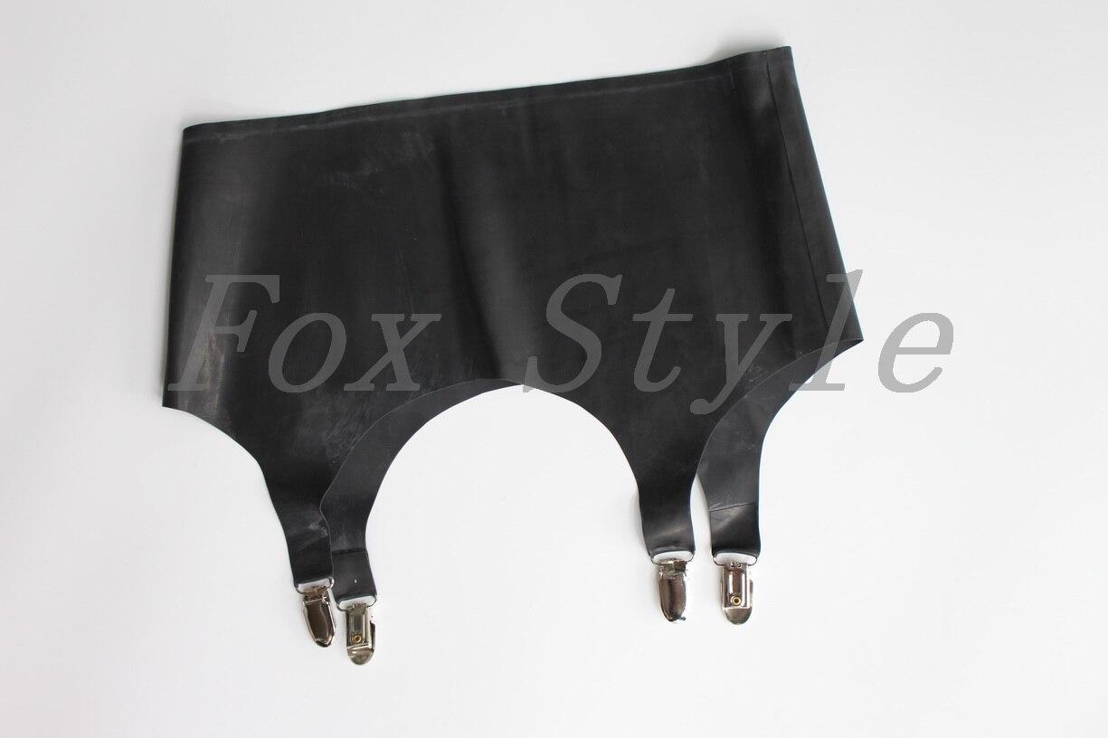 New Latex Suspender Rubber Cummerbunds In Hand Made