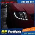 Auto Styling LED Kopf Lampe für AuDI TT scheinwerfer 1999 2006 für TT kopf licht LED winkel augen drl h7 hid Bi Xenon Objektiv abblendlicht|h7 hid|bi-xenon lensauto light -