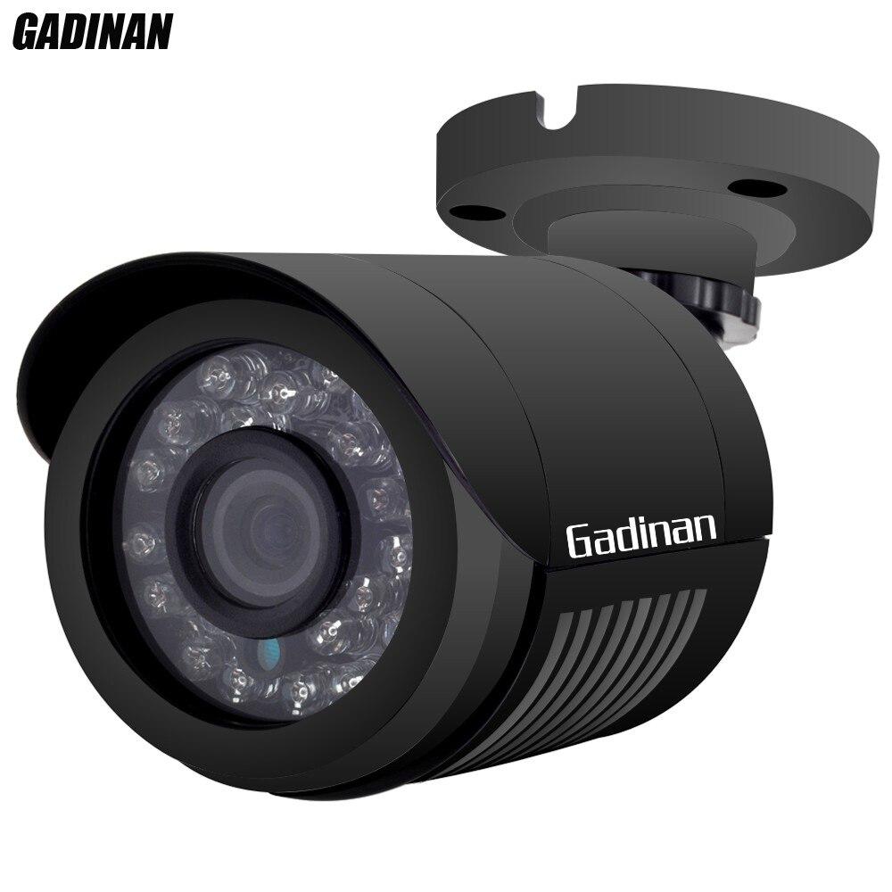 imágenes para Hi3518e gadinan 48 v poe ip cámara dsp impermeable bullet ir cut Visión nocturna 720 P P2P Cámara IP de Vigilancia PoE ONVIF P2P XMeye
