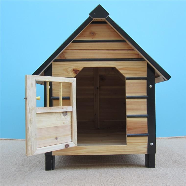 Online Get Cheap Wooden Dog House Aliexpress Com