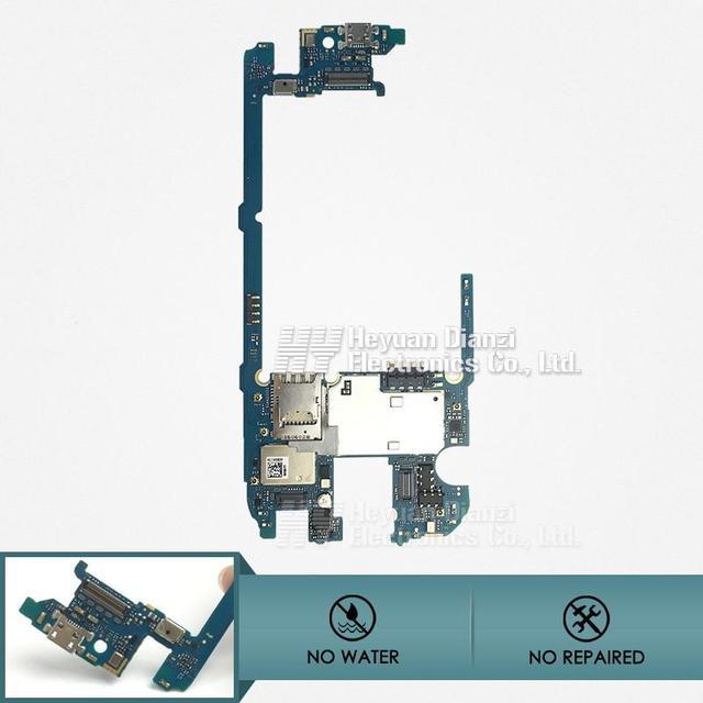 Para lg g4 h818 reemplazar 32 gb placa base placa lógica buena quatity limpio imei buen trabajo freeshipping