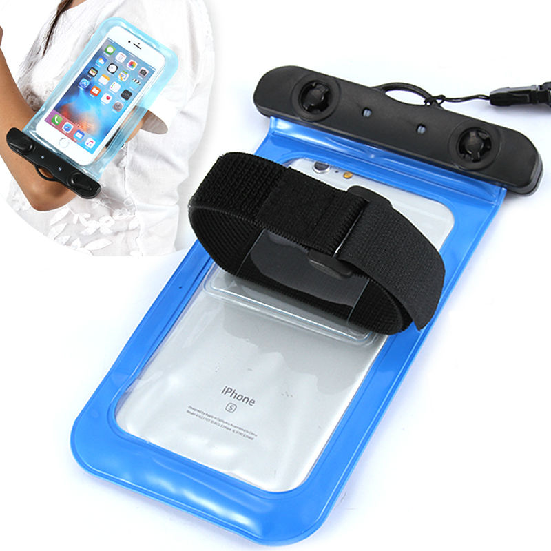 Universal case brazalete impermeable natación deporte cubierta del brazal para e