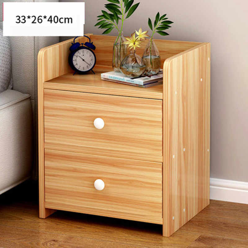 Drawers Simple Bed Cabinet Storage