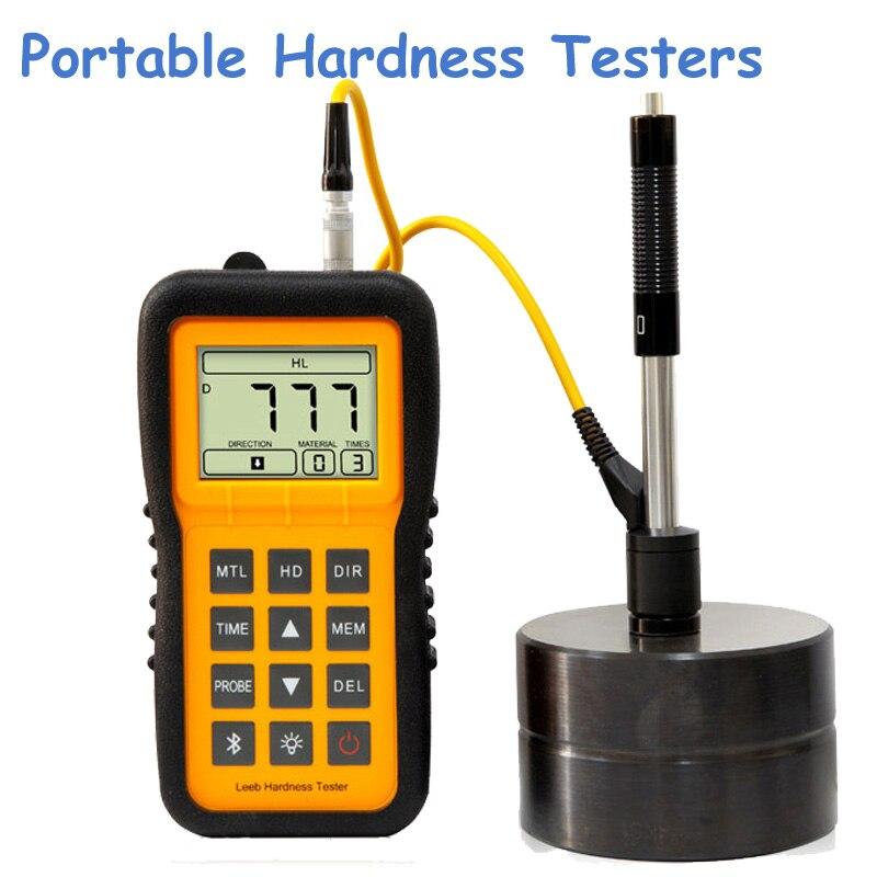 Portable Steel Leeb Hardness Testers Digital Metal Hardness Testing Machine Hardness Meter LM100
