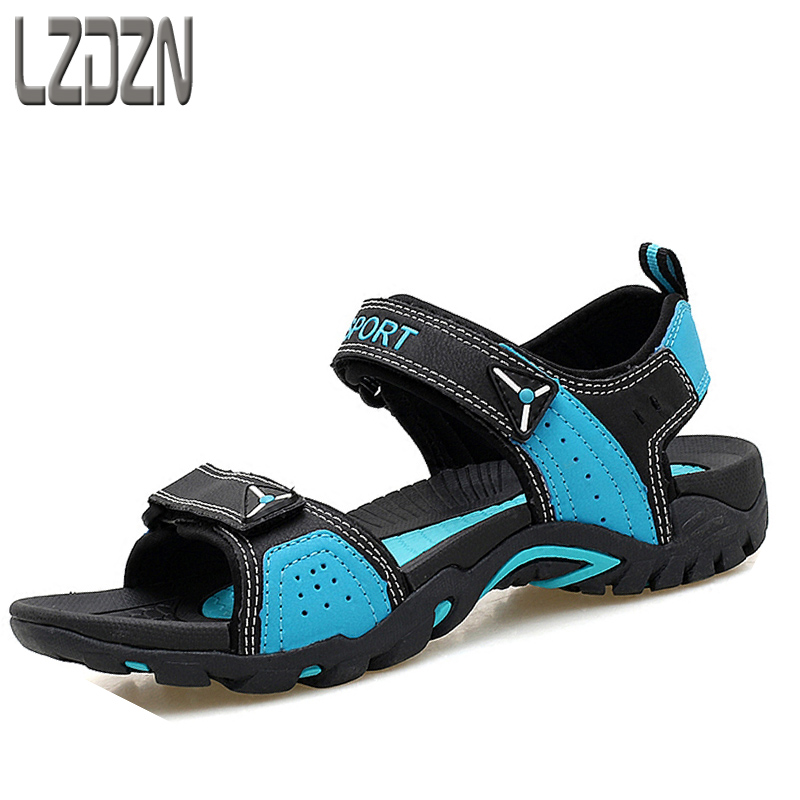 A couple of mens casual Summer Youth Korean junior high school students personality child boys shoes sandals in the summer tid