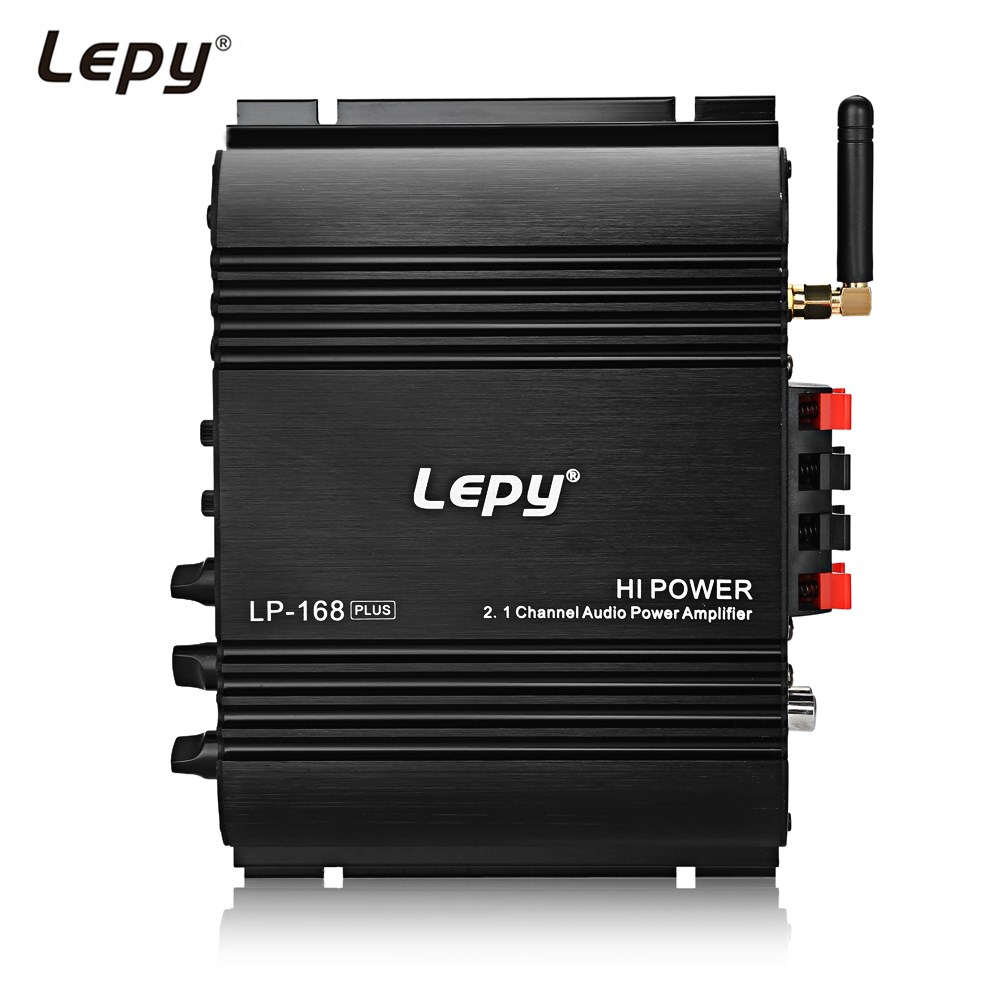 Lepy 168 Plus Super Bass Digital amplifier HiFi Stereo Audio Amplifier Bluetooth Speaker Suitable for most of Bluetooth devices