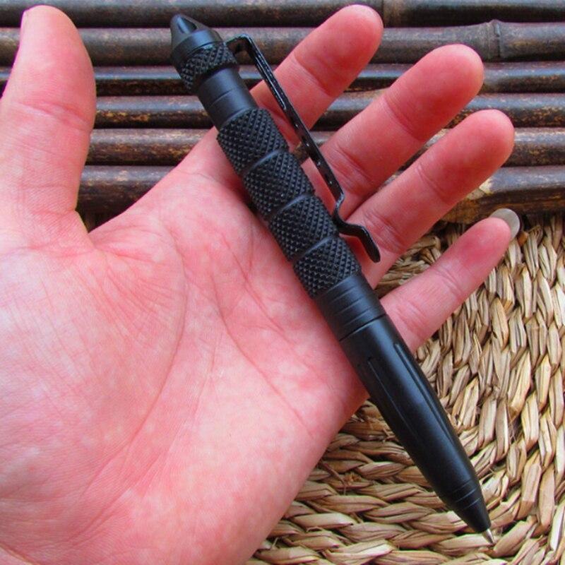 Обороны Личная Открытый Тактический Самообороны Ручка многоцелевой авиации Алюминий Портативный Товары для самообороны разные цвета